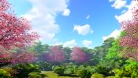 3D唯美梦幻森林后花园
