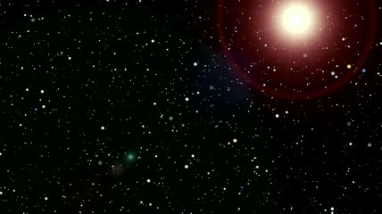 星场\-彗星 超新星 星云云 外星人视角 穿越空间2小时