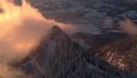 德国\-梦境寂静唯美\-航拍震撼雪山云海\-2