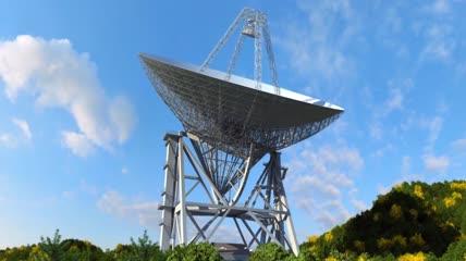 望远镜 三维动画