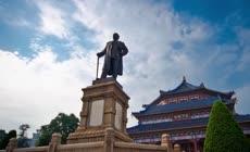 广州城市风景延时摄影720