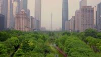 广州中轴线航拍