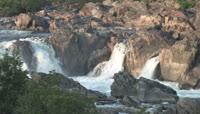 瀑布溪流高清实拍视频素材1