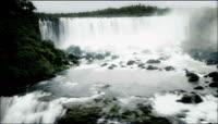 雄伟壮丽瀑布实拍视频素材