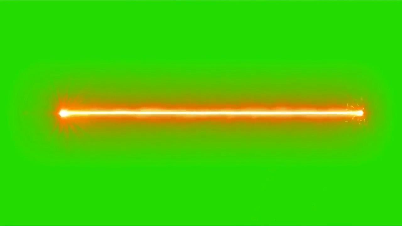 绿屏抠像红色激光