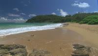 海滩海岸线高清实拍视频素材