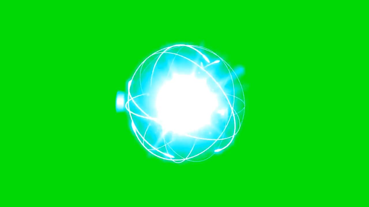 绿屏抠像能量粒子球
