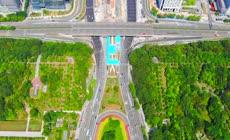 深圳市民中心航拍