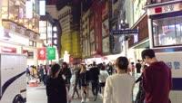 城市逛街步行街