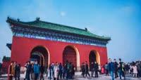 北京天坛\-延时