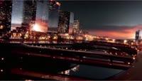 城市科技光线倒计时片头