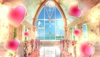 温馨浪漫婚礼婚庆教堂背景视频素材