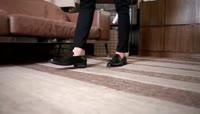 时尚绅士\-皮鞋男士正装皮鞋广告通用
