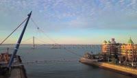大连星海湾高清实拍视频素材