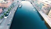 欧洲小城瑞典马姆斯高清实拍视频素材